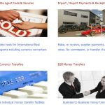 Online systems for currency exchange services